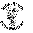 This is the Shoalhaven Bushwalkers Logo